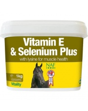 NAF Vitamin E and SeleniumPlus 1kg 24h