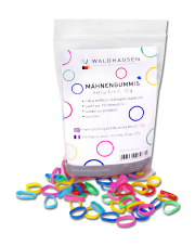 Waldhausen gumki do grzywy mix 24h