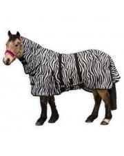 Horseware derka siatkowa Loveson Zebra 24h