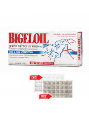 Absorbine Bigeloil Leg wraps okład 8szt.