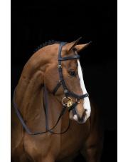 Horseware ogłowie Rambo Micklem Multibridle, anatomiczne 24h