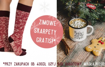Zimowe skarpety Horseware gratis!